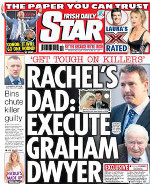 Irish Daily Star Cover